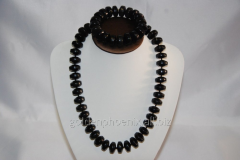 Beads and bracelet from a stone Agate 108042794