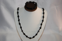 Beads and bracelet from a stone Agate 109699746