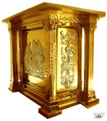 Altar from damask steel