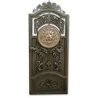 Shod gate with decor elements, Lev