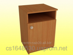 Bedside table with a door and a niche, 4501