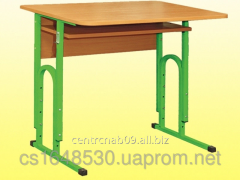 The table is student's 1-seater, with