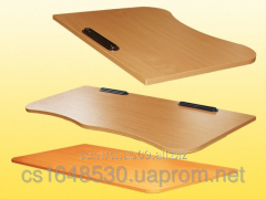 Table-top for school tables and school desks,