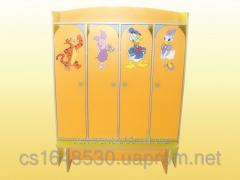 Case 4-door for a locker room, 4625