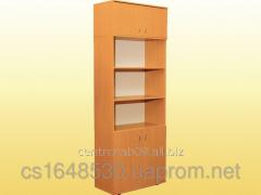 Bookcase with a mezzanine, 0632+0653