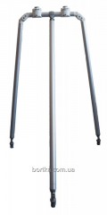 Опорная стойка 800x500 мм с двумя замками