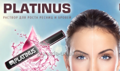 Platinus Lashes solution for growth of eyelashes