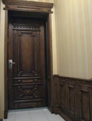 Doors entrance classical to order, oak, ash-tree,