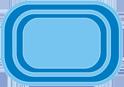 Sports pool Standard 4 x 2,80 x 1,55m