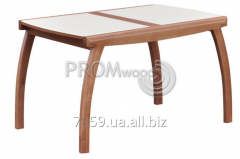 Kitchen table Leader plus glass