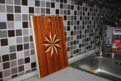 Доска разделочная кухонная, ручная работа