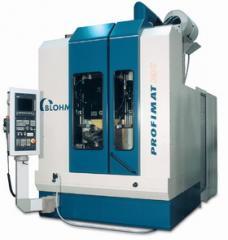Machines of the BLOHM PROFIMAT MC and RT series