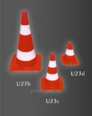 Дорожный знак - конус U23c