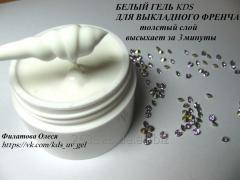 White gel for kds