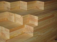 Bar construction pine in Kiev and Kiev region
