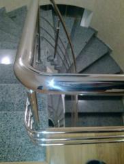 Лестницы для дачи, лестницы из нержавейки