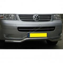 Захисна дуга переднього бампера на Volkswagen T-5