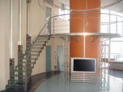 Лестницы из нержавейки, для коттеджей, Лестницы