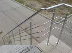 Лестницы наружные из нержавеющей стали