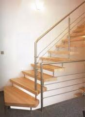 Ladders semi-screw of stainless steel