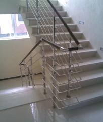 Ladders interfloor of stainless steel