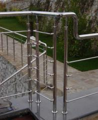 Ladders metal of a stainless steel