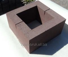 Block concrete Stolbova color
