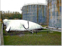 Gas-holder for systems of recovery of vapors of