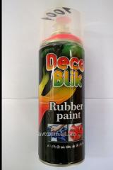 Deco Blik RRL-0004 the Rubberized paint of black