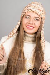 Шапка Буденовка (бежевый)