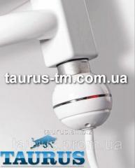 Компактный ТЭН (Польша) белый, с кнопкой питания