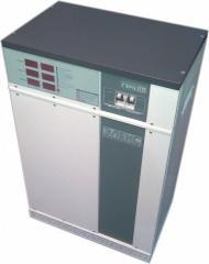 Voltage stabilizer three-phase HERTZ of M of