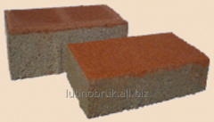 The paving slabs the Brick, thickness are 6 cm