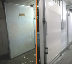 Repair of doors refrigerating and freezers