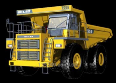 Spare parts for the career equipment the BelAZ