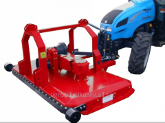 The mower garden with frontal fastening with a