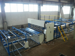 Equipment for welding of a reinforcing grid,