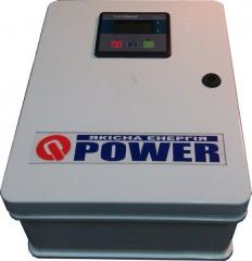 Board of automatic input of a reserve Q-Power