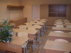 Парты и стулья школьные регулируемые по высоте