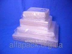 Package polypropylene with an adhesive tape