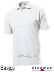 T-shirt polo man's SST3000 white