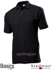 T-shirt polo man's SST3000 black