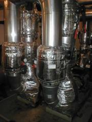 Thermocovers for pipes, fittings and the equipment