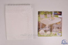 Скатерть на стол HOME PLUS размер 120/150 см ВЕСНА