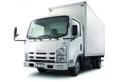 The truck of Isuzu NMR 85 L, loading capacity is