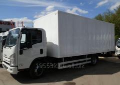 Isuzu NQR90L-M truck, loading capacity is 6