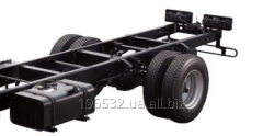 Chassis of the Hyundai truck