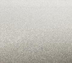 Glossy MFD facade Silvery metallic