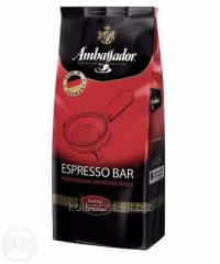 Ambassador Espresso Bar coffee beans, 1 kg