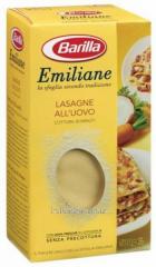 Lasagna of Barilla Emiliane Lasagne All'Uovo,